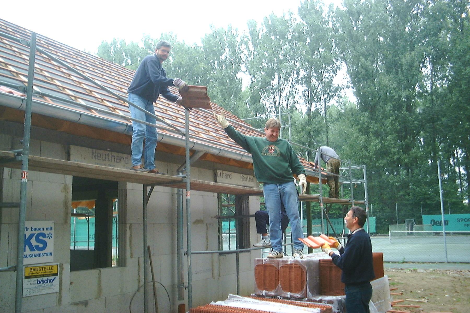 Dachdecken 1