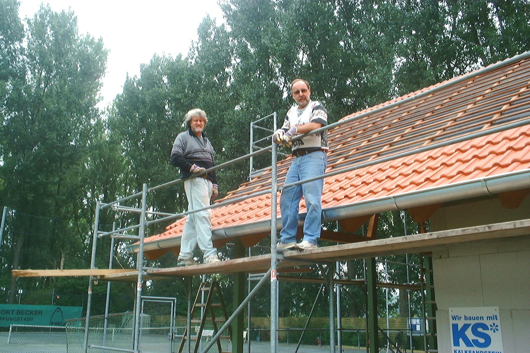 Dachdecken 2